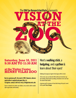MERI 2011 Vision at the Zoo