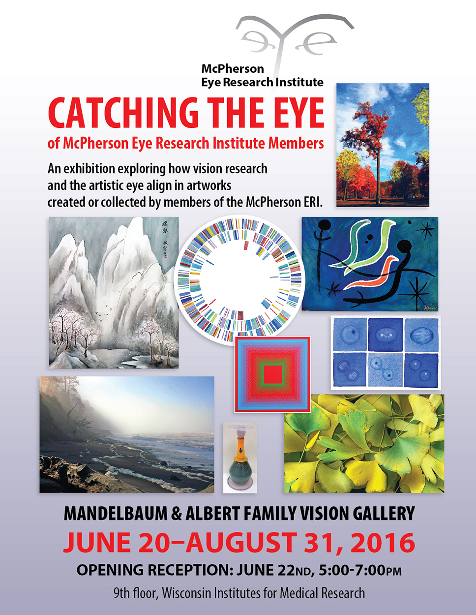 Summer Vision Gallery 2016 Poster