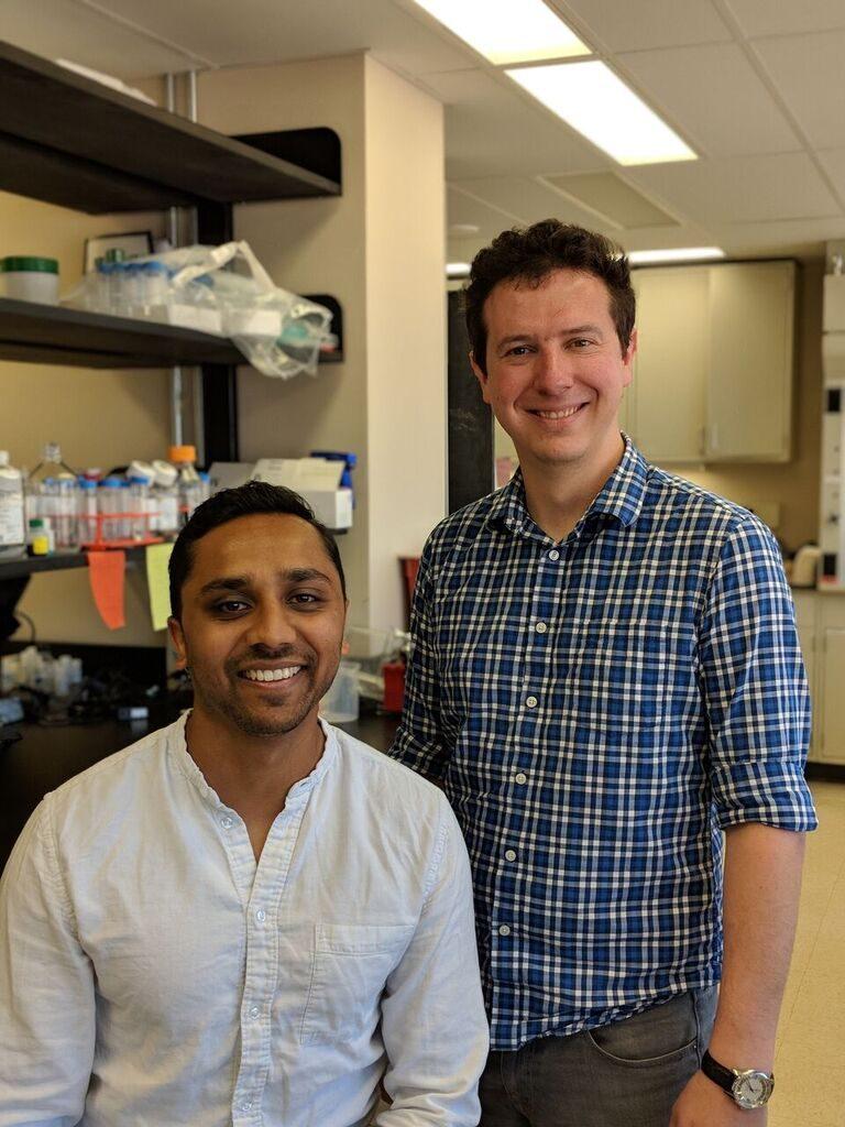 Dwani Patel and Dr Daniel Lipinski