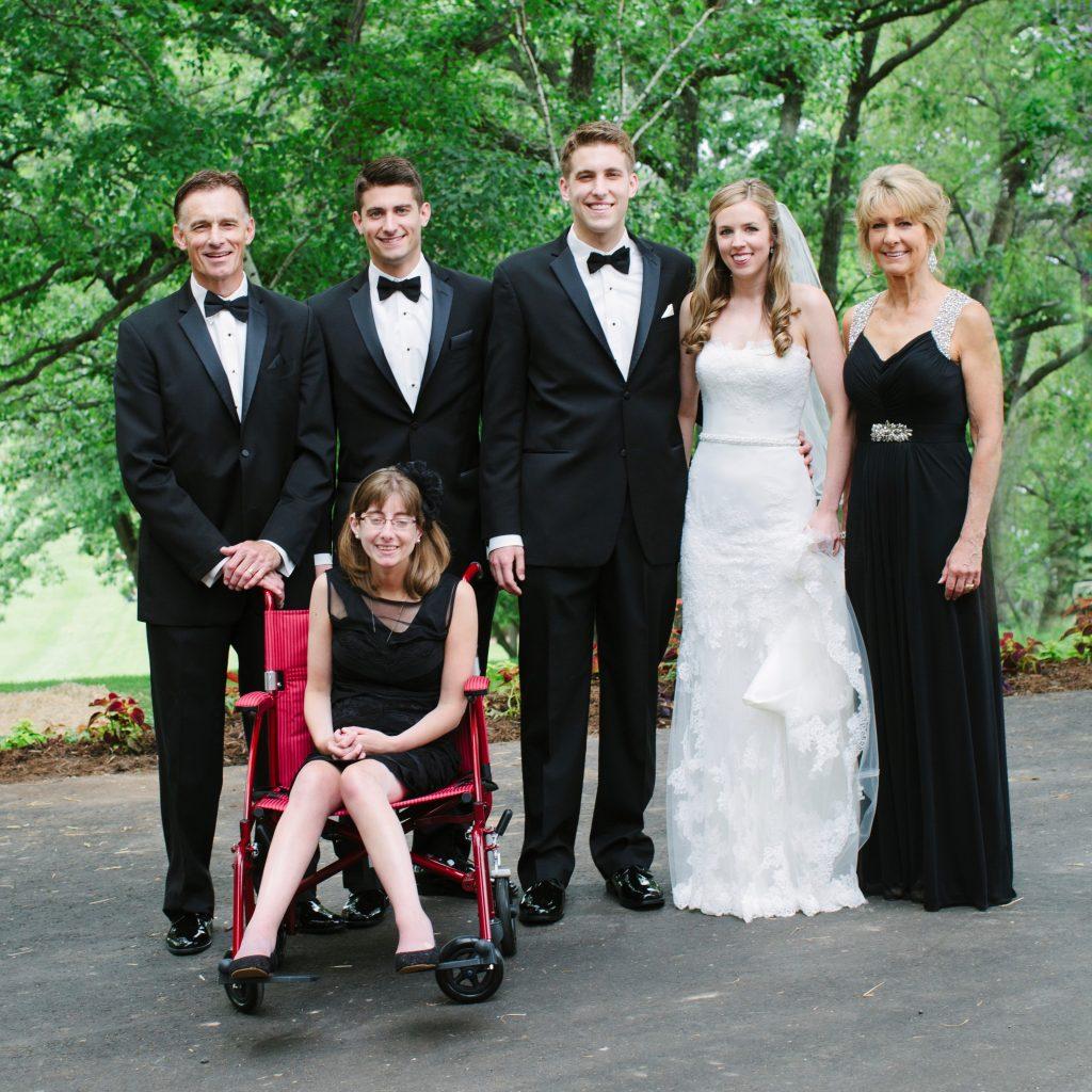 Kenzi Valentyn with her family