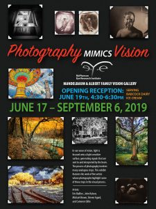 Photography Mimics Vision postcard