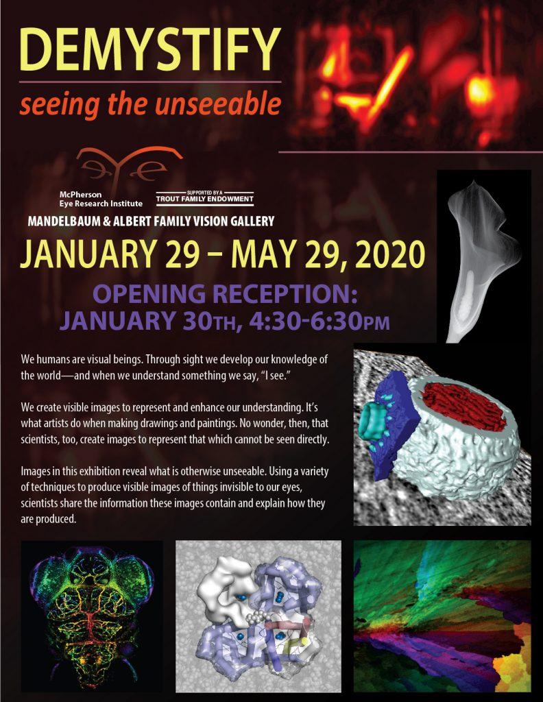 Demystify Exhibit Poster