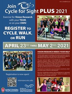 Cycle for SIght Plus 2021 Poster